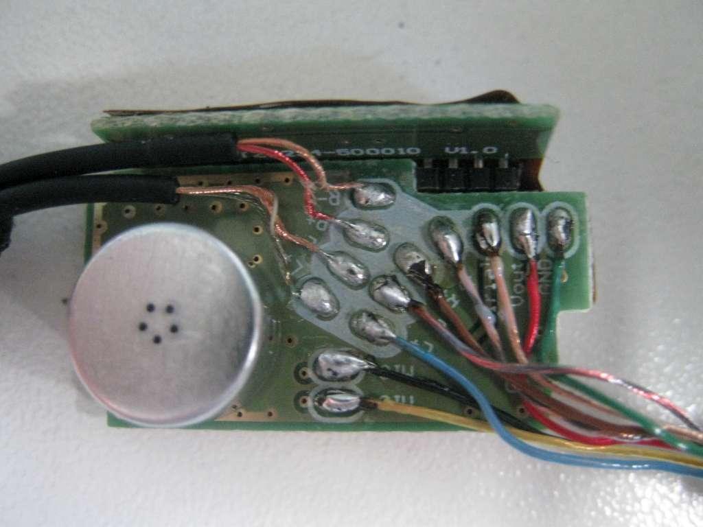 Ремонт телефонных наушников